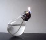 польза от перегоревшей лампочки: из нее можно сделать керосиновую! . - samodelki.org