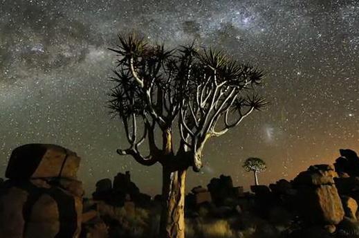 Намибия - Прекрасные ночи в Намибии