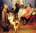 картина Ф. П. Решетникова «Опять двойка»