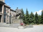 Памятник Г.К.Жукову. Екатеринбург. 2012