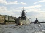 Нева. Военные корабли. Санкт-Петербург
