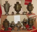 Коллекция самоваров из СССР
